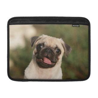Fawn Pug Puppy Panting MacBook Air Sleeve