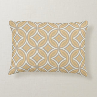 Fawn Retro Pattern Reversible Accent Pillow