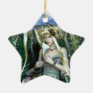 FawnBig.jpg Ceramic Ornament