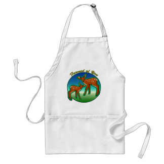Fawned of You (Fond of You) Aprons