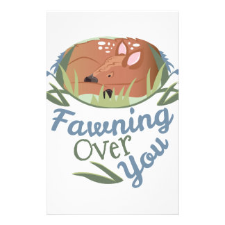 Fawning Over You Stationery