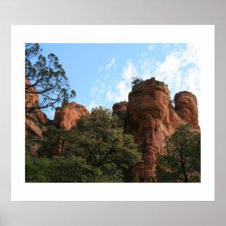 Fay Canyon Landscape Poster