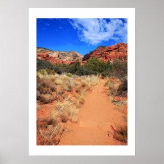 Fay Canyon Trail Print