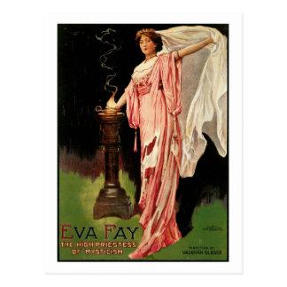 ~ Fay de Eva la alta sacerdotisa del misticismo Tarjetas Postales