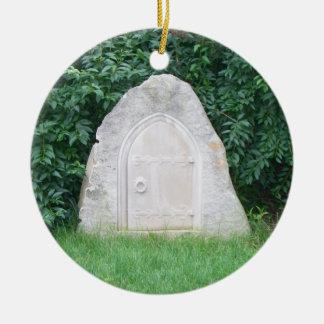 Fay Door Ceramic Ornament