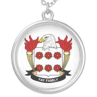 Fay Family Crest Custom Necklace
