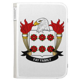 Fay Family Crest Kindle 3G Covers