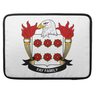 Fay Family Crest MacBook Pro Sleeves