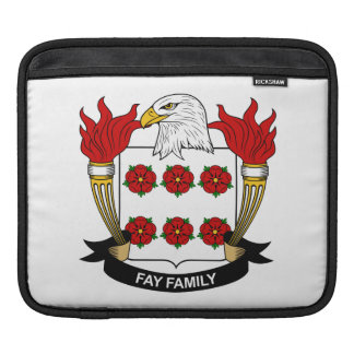 Fay Family Crest Sleeves For iPads
