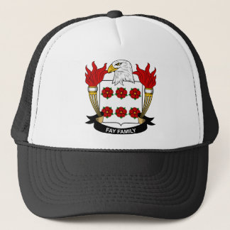 Fay Family Crest Trucker Hat