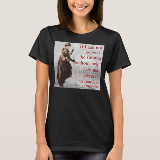 Fay Fuller - Acheive the summit T-Shirt