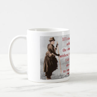 Fay Fuller - Acheive the summit - with story Classic White Coffee Mug