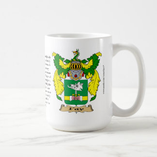 Fay name, the Origin, the Meaning and the Crest Classic White Coffee Mug