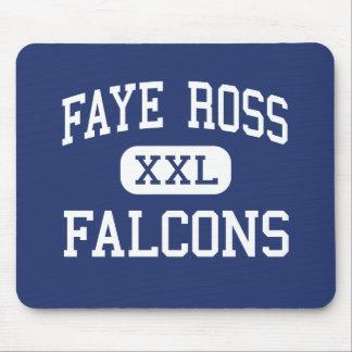 Faye Ross Falcons Middle Artesia California Mousepads
