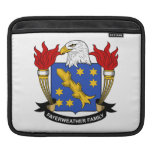 Fayerweather Family Crest Sleeves For iPads