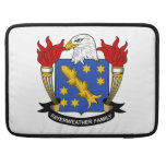 Fayerweather Family Crest Sleeves For MacBook Pro
