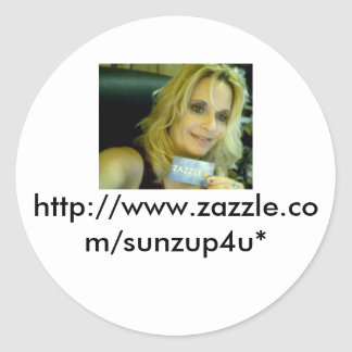 fayes zazzle smile picture, http://www.zazzle.c... classic round sticker