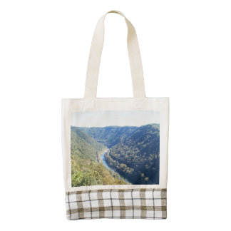 Fayette County Overlook Zazzle HEART Tote Bag