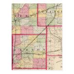 Fayette, Effingham, Marion, condados Postal