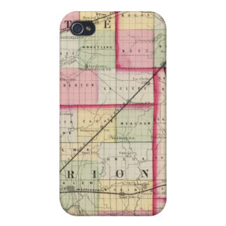 Fayette, Effingham, Marion, counties iPhone 4/4S Cover