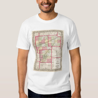 Fayette, Effingham, Marion, counties T Shirt