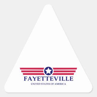 Fayetteville AR Pride Triangle Sticker