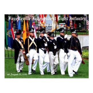 Fayetteville Independent Light Infantry Company Postcard