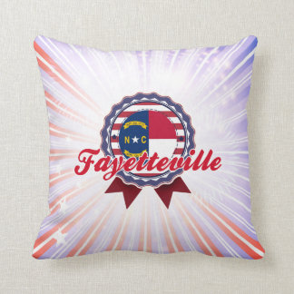 Fayetteville, NC Throw Pillow