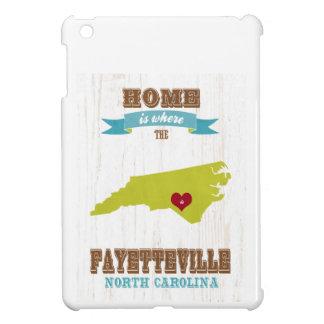 Fayetteville, North Carolina Map – Home Is Where iPad Mini Cover