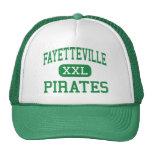 Fayetteville - Pirates - High - Fayetteville Trucker Hat