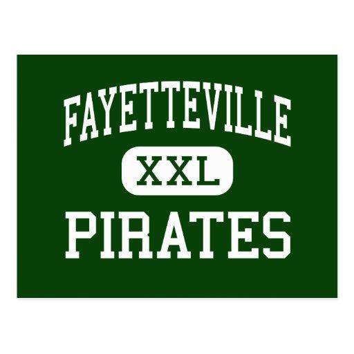 Fayetteville - Pirates - High - Fayetteville Postcard