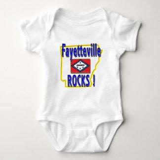 Fayetteville Rocks ! (blue) Baby Bodysuit
