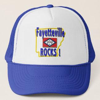 Fayetteville Rocks ! (blue) Trucker Hat