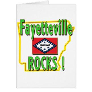 Fayetteville Rocks ! (green) Card