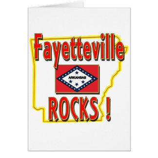 Fayetteville Rocks ! (red) Card