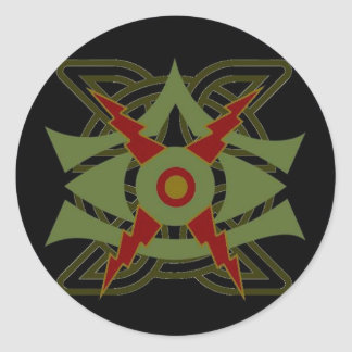 """Faytes of the Otherworld """"The Eye of Balor"""" Classic Round Sticker"""
