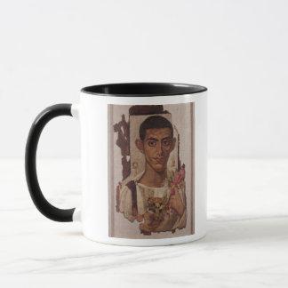 Fayum portrait of Ammonius, from Antinoe Mug