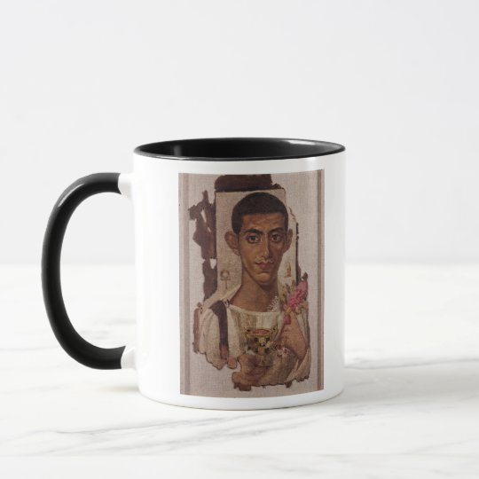 Fayum portrait of Ammonius, from Antinoe Mug