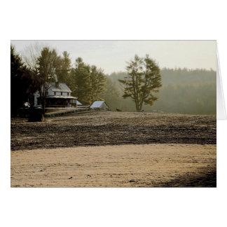 """""""Fazed Farm"""" blank card"""