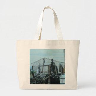 FAZIO'S SEAFOOD Jumbo Tote Tote Bags