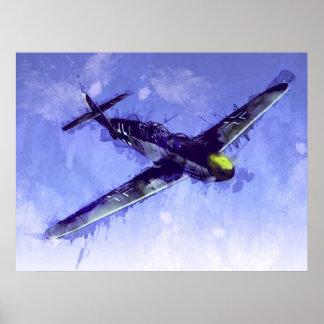 FB 109 de Messerschmitt Impresiones