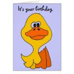 FB apenas tarjeta de cumpleaños Ducky