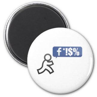 FB Bash 2 Inch Round Magnet