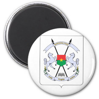 FB del escudo de armas de Burkina Faso Imán De Nevera