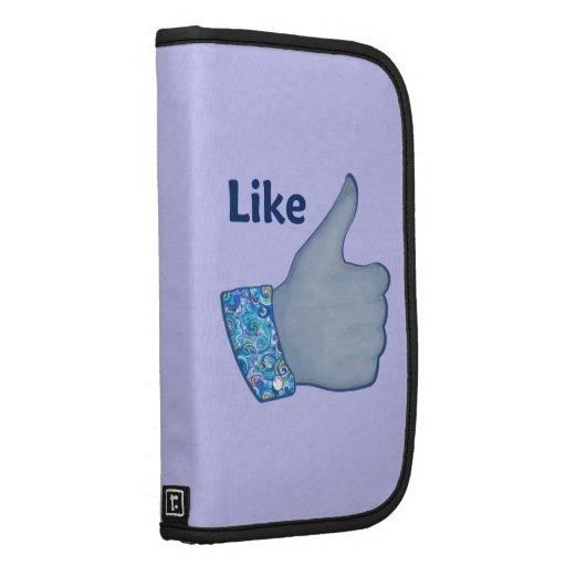FB Like Button Folio Planner