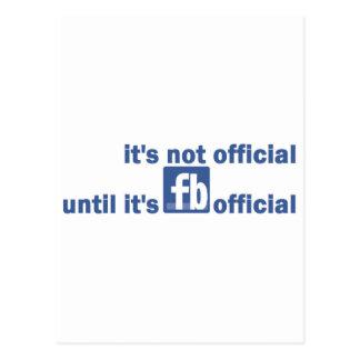 fb official postcard