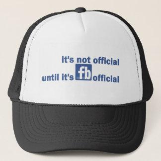 fb official trucker hat