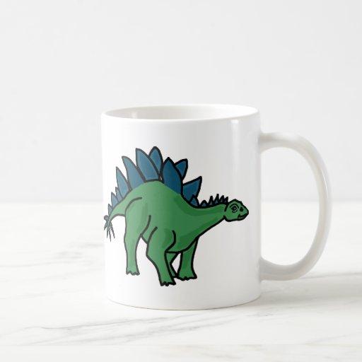 FB taza del dinosaurio del Stegosaurus