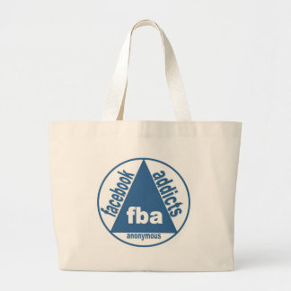 FBA:  Facebook Addicts Anonymous Tote Bags