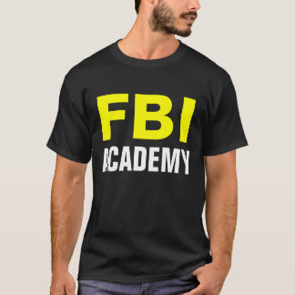 FBI ACADEMY - Official FBI Academy T-shirt
